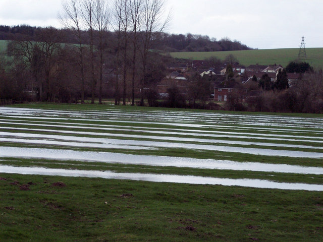 Flooded Meadows at Odstock