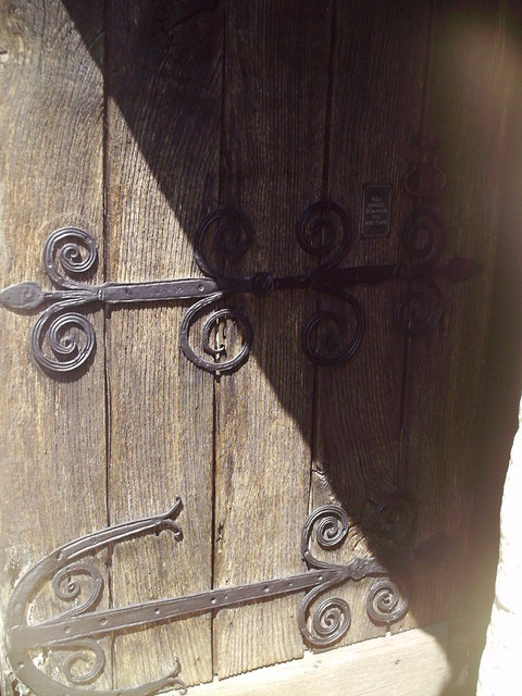 Barfrestone Church Doorway