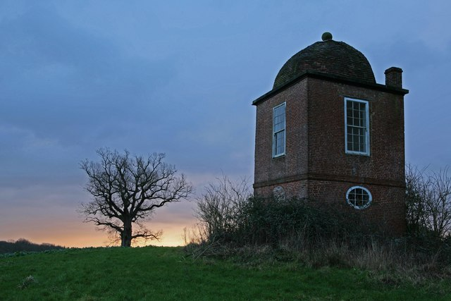 Round House Folly at sunrise