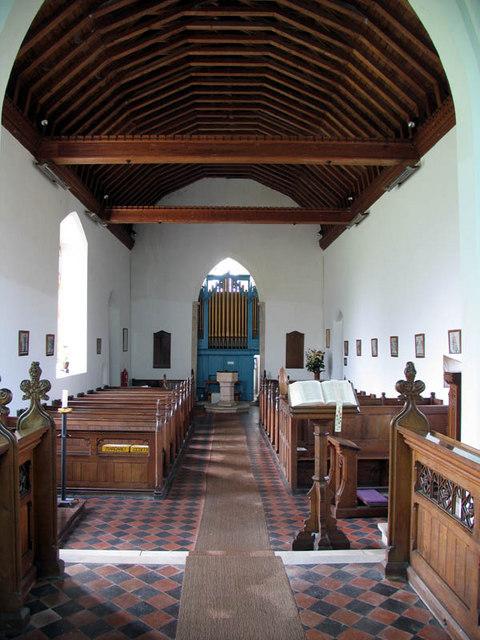 St Andrew, Little Barningham, Norfolk - West end
