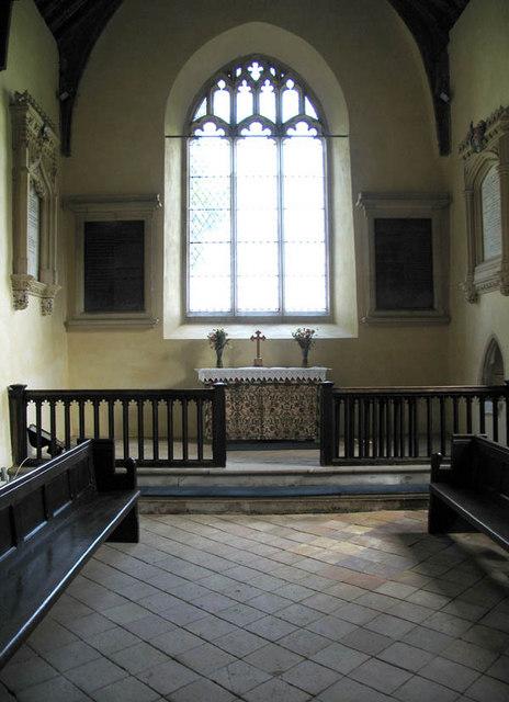 St Bartholomew, Sloley, Norfolk - Chancel