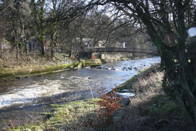 Footbridge across R. Ayr