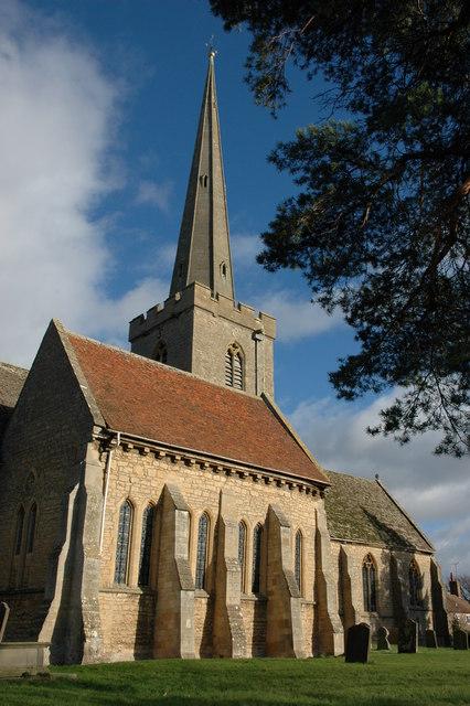 Bredon church