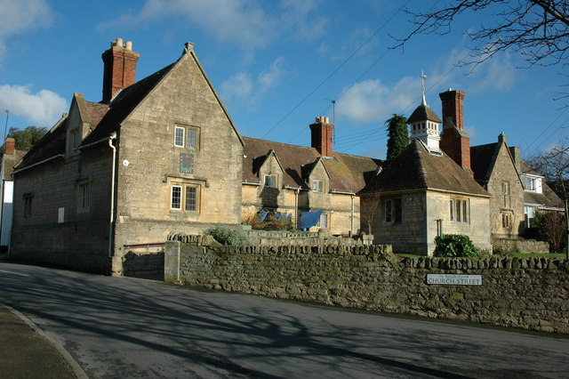 The Reed Almshouse, Bredon