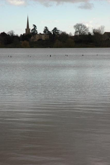 Flooded Twyning Meadow