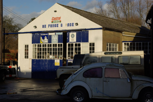 The Forge Garage, Lower Brailes