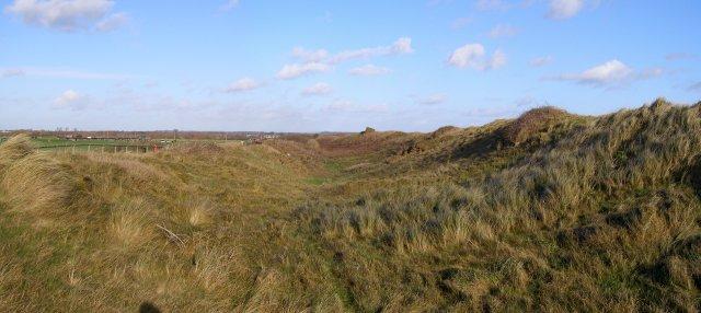Double Dykes at Hengistbury Head