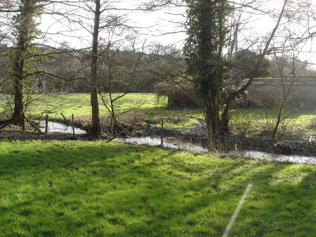 Stream running near Donhead St Mary