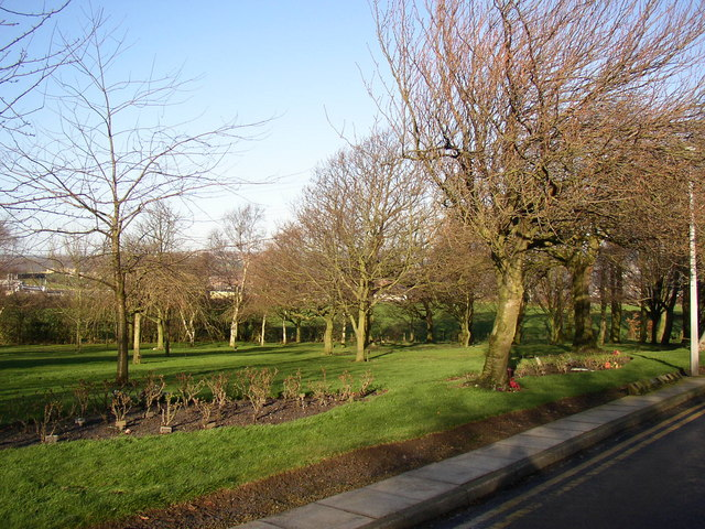 In the grounds of Huddersfield Crematorium, off Fixby Road, Bradley