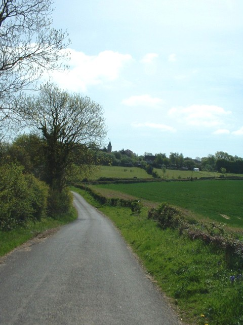 Privett Road looking towards High Cross