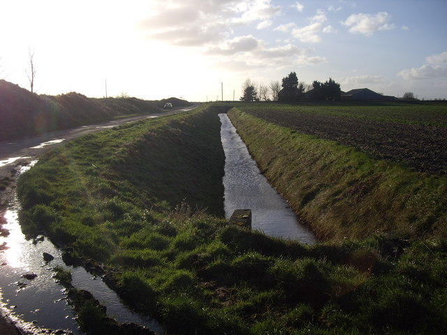 Drainage Ditch Near Gedney Drove End