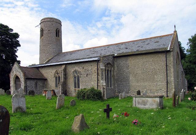 All Saints, Thwaite, Norfolk