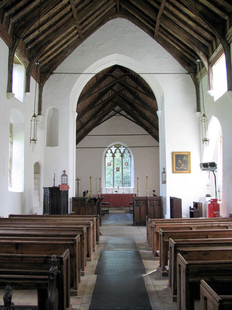 St Ethelbert, Alby, Norfolk - East end