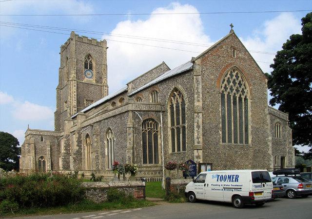 St Mary, Worstead, Norfolk