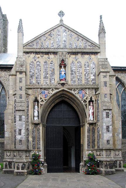 St Nicholas, North Walsham, Norfolk - Porch