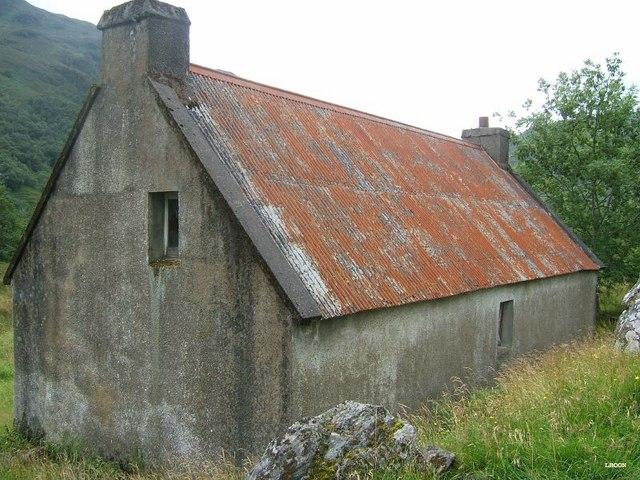 Old building at Faddoch
