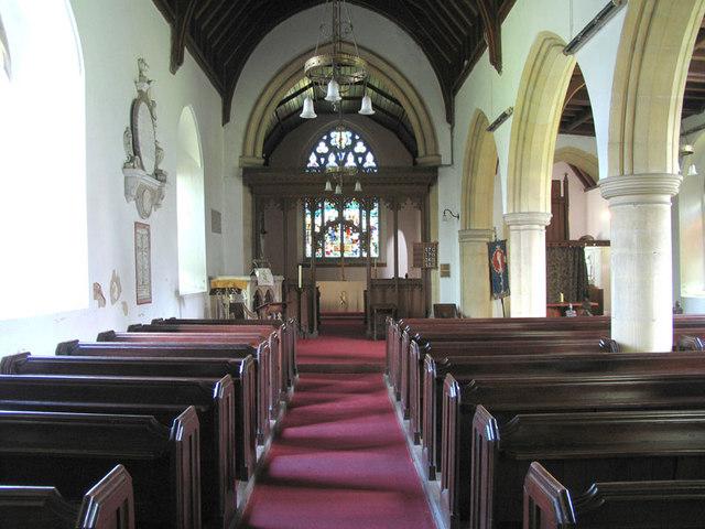 All Saints, Horstead, Norfolk - East end