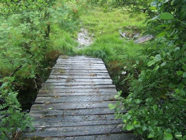 Bridge over Allt Loch Innis nan Seangan