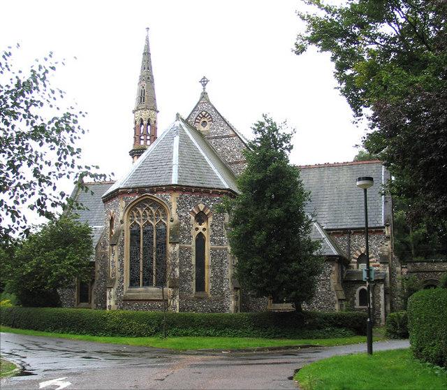 Christ Church, Church Avenue, Eaton, Norwich
