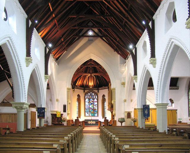 Christ Church, Church Avenue, Eaton, Norwich - East end