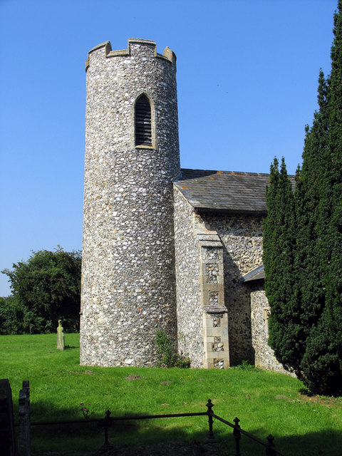 St Swithin, Ashmanhaugh, Norfolk - Tower