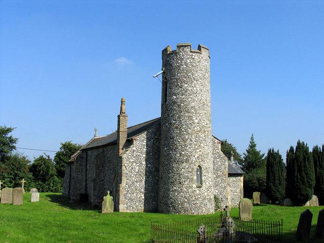 St Swithin, Ashmanhaugh, Norfolk