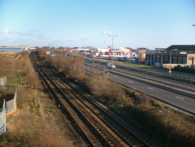 Rail and Road at Hessle