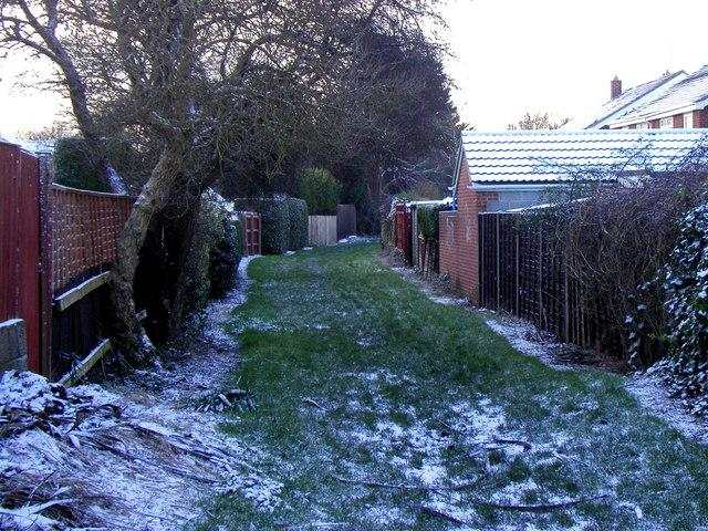 Love Lane Bridleway, Hedon