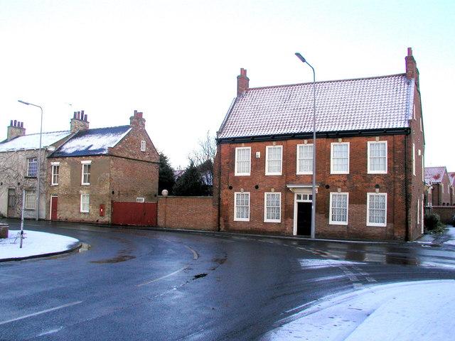 Old Hall on 'Johnson's Corner'