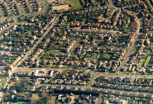 Aerial view of East Hedon