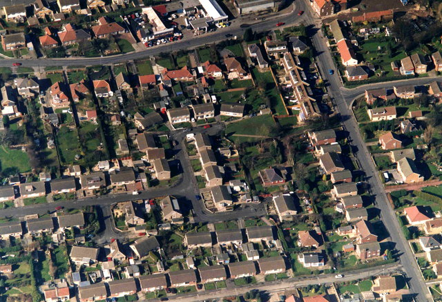Aerial photo of East Hedon