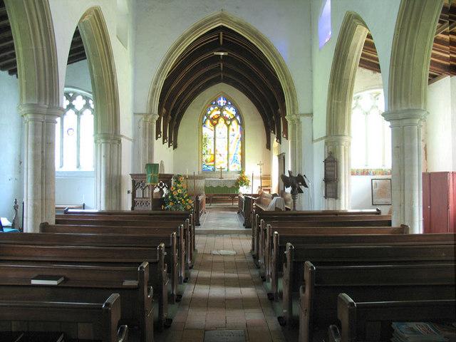 St Swithin, Frettenham, Norfolk - East end