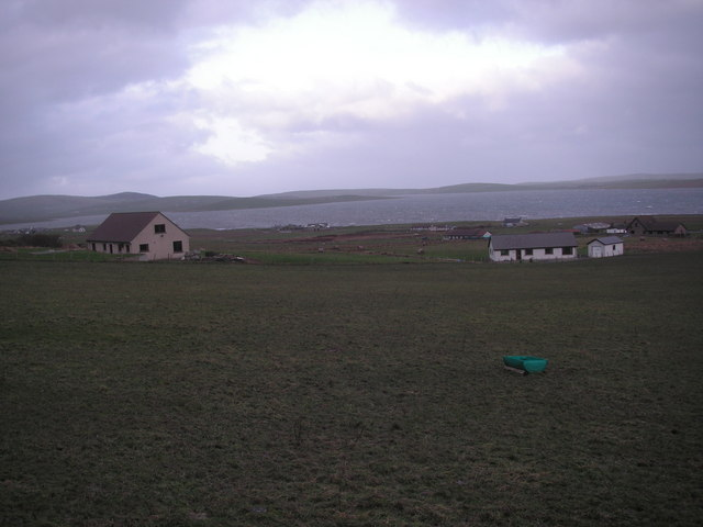 Stenness and the Steness Loch