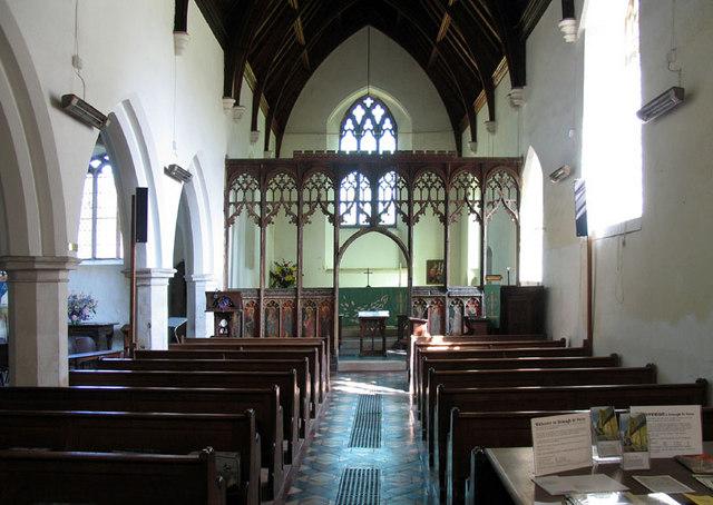 St Peter, Belaugh, Norfolk - East end