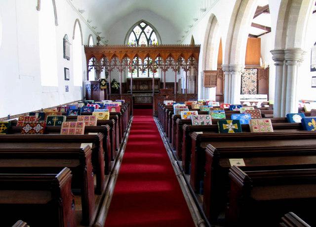 St John the Baptist, Coltishall, Norfolk - East end