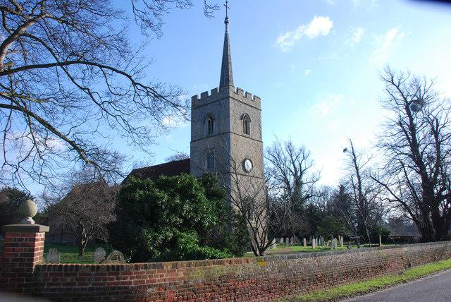 St Dunstan Church, Hunsdon.