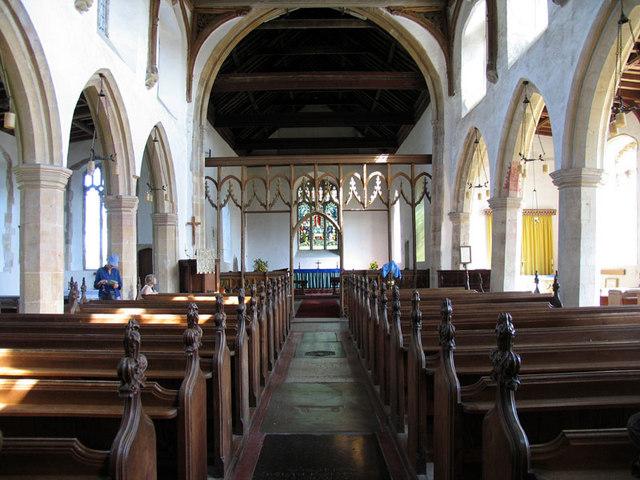 All Saints, Marsham, Norfolk - East end