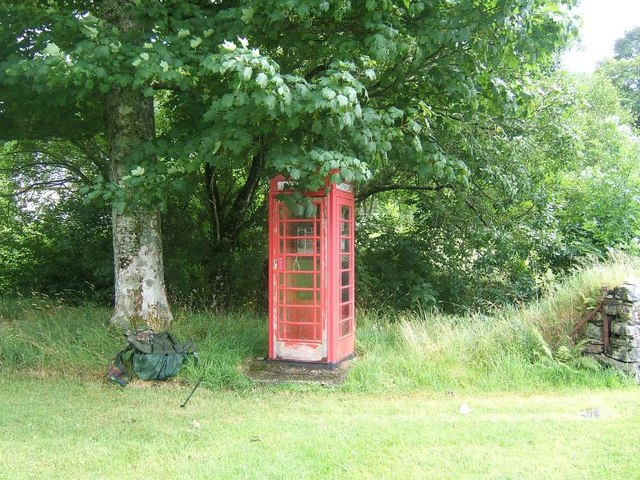 Killilan phone box