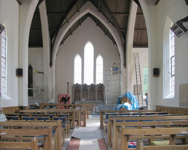 All Saints, Hainford, Norfolk - East end restoration