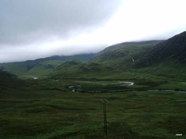 View into upper Glen Ling