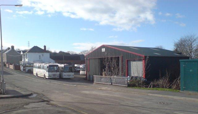 Gwynne Price Coaches depot
