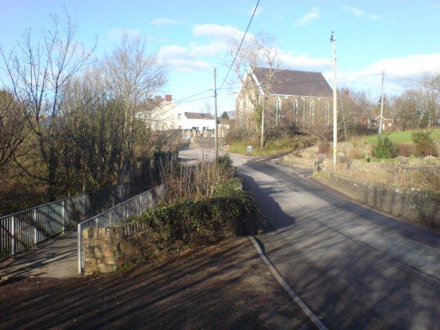 Bridge over the river Morlais