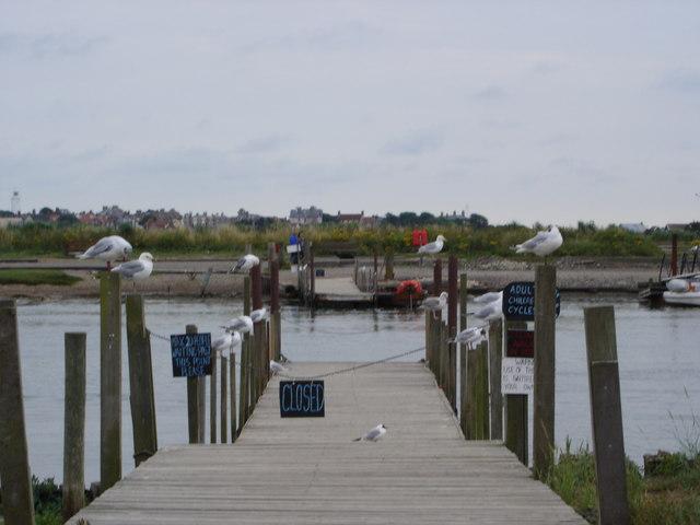 Walberswick Ferry Jetty