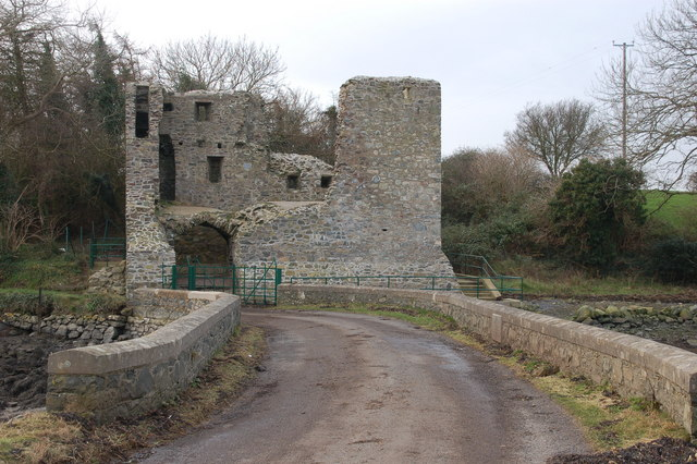 Mahee castle, Strangford Lough