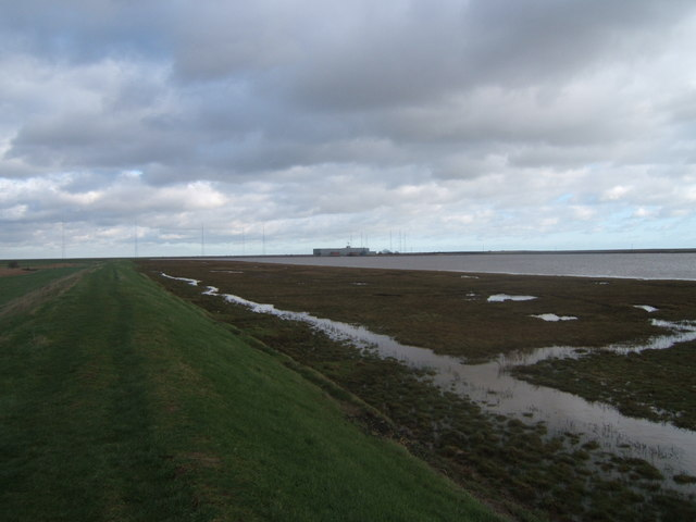 Halfway Reach, River Ore and Orfordness Radio Station