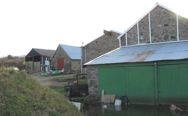 Converted farm buildings at Tyddyn Mawr