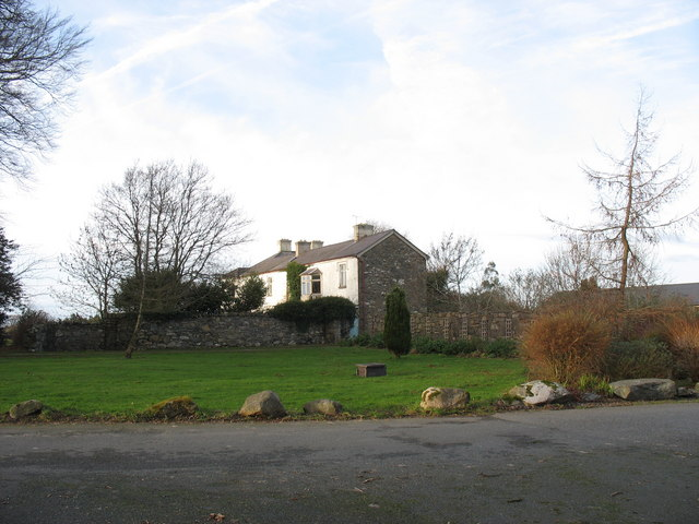 The south wing of Llwyn y Brain