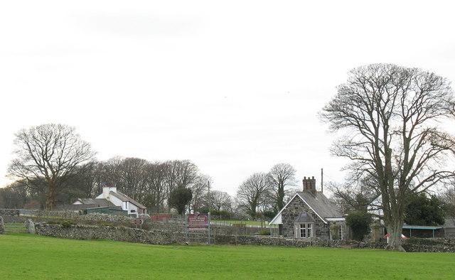 Buarthau and the Llwyn y Brain Lodge