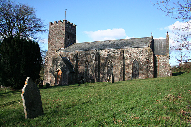 Meshaw: John the Baptist's Church