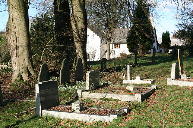 Meshaw: church graveyard